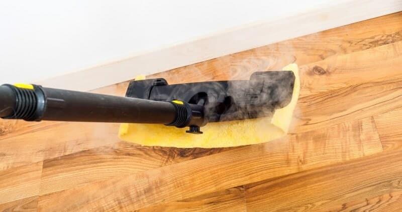 Steam cleaner on parquet?