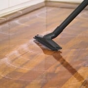 Clean the parquet and planks properly
