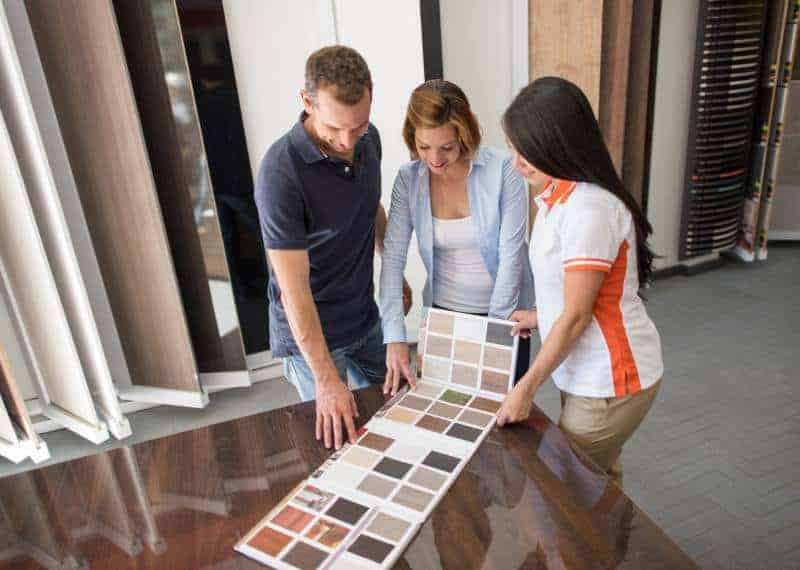 Buy vinyl flooring and get advice from the professional
