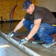 Drying screed - how long?