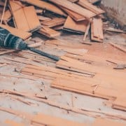 Removing/Ripping out parquet: this is how it works
