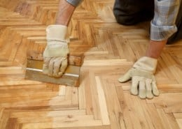 Parquet oiling: Instructions