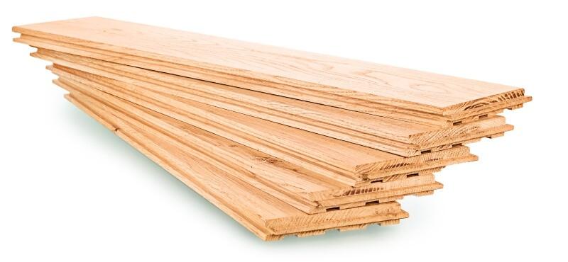 Types of parquet: Solid flooring