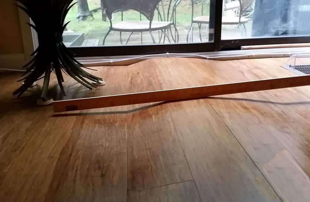 Glue Vinyl Flooring Never Install