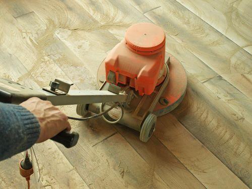 Sanding Wood Floors