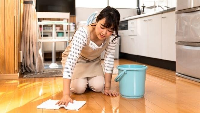 Removing paint on hardwood floors