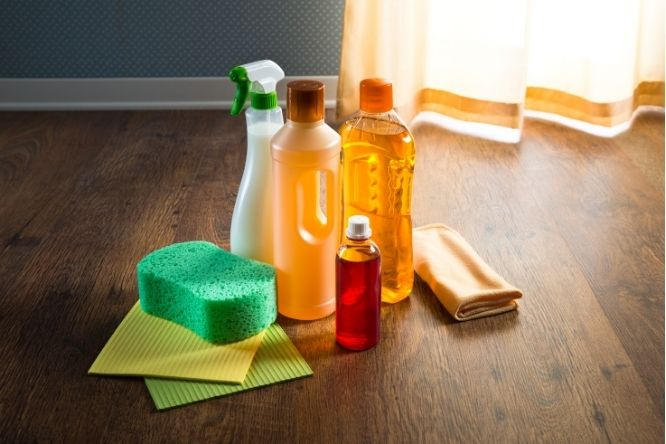 cleaning products for hardwood floors