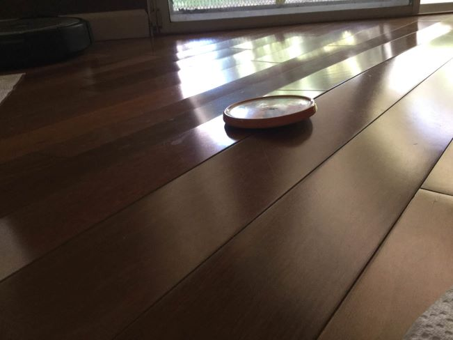 Cupping in wood floors