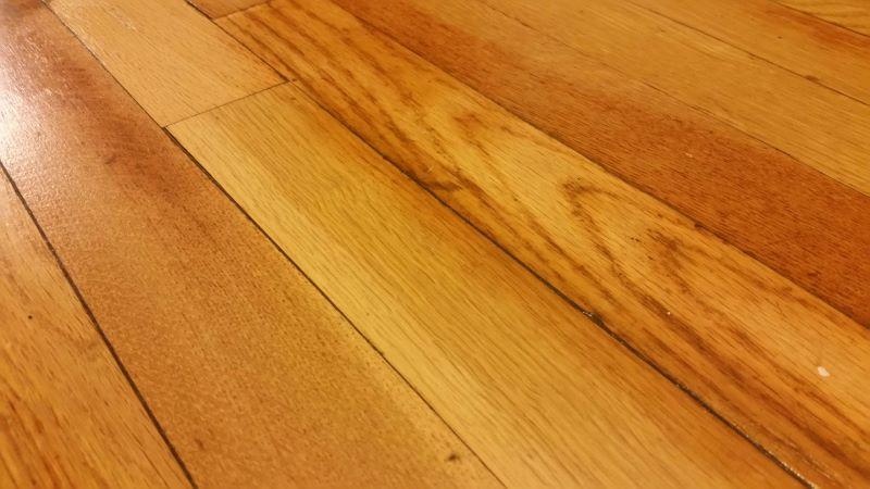 clean engineered wood floors