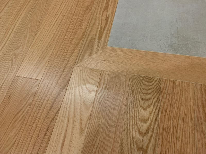 haze on newly installed wood floors
