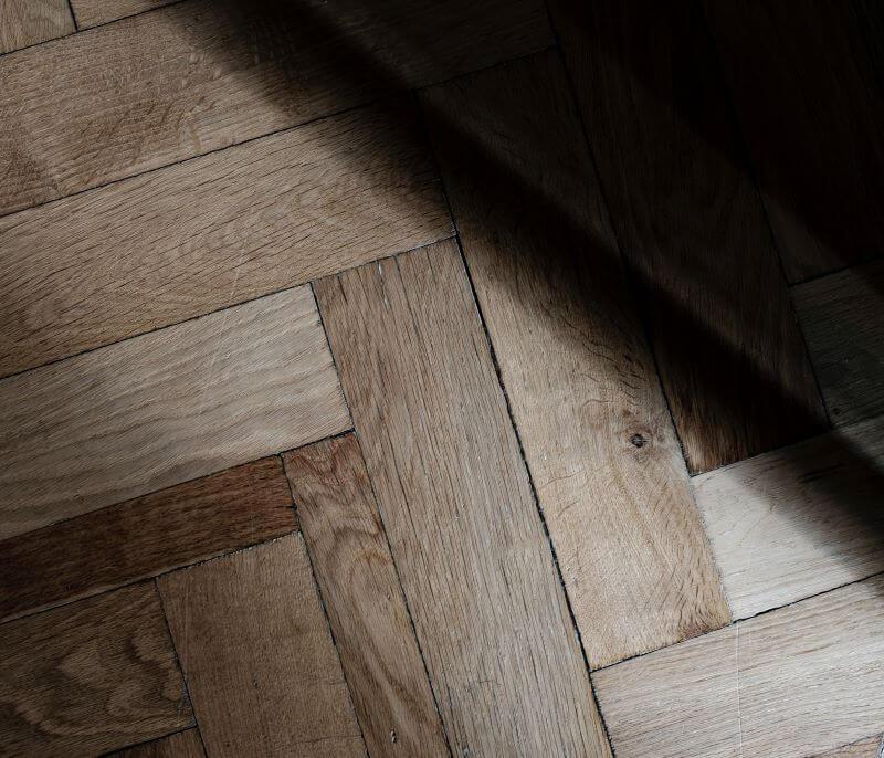 random pattern wood floors