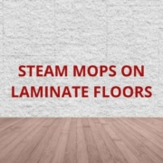 can you use steam mop on laminate floors