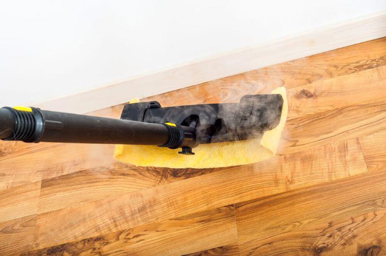 steam mops on laminate floors