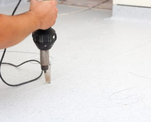 Repair vinyl floor and remove scratches with the repair set