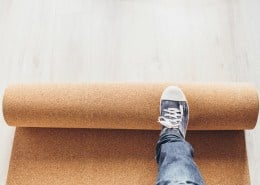 The perfect vinyl floor underlay for footfall sound insulation