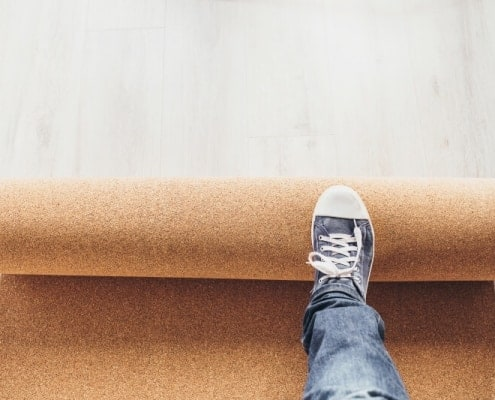 The perfect vinyl flooring base for impact sound insulation